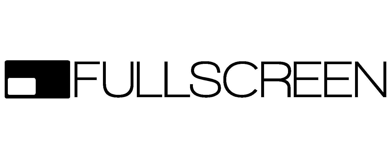 Fullscreen Black Logo