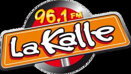 La Kalle 96.1 FM Logo Actual