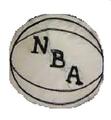 NBA logo 1962 1969