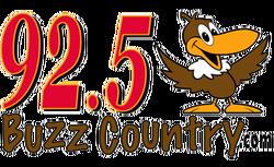 92.5 Buzz Country Logo