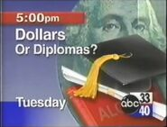 ABC 33-40 Dollars or Diplomas Promo 1996