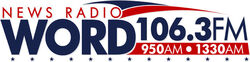 News Radio WORD 106.3 FM AM 950 and 1330