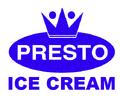 Presto Ice Cream logo 1975