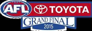 2015 AFL Grand Final Logo