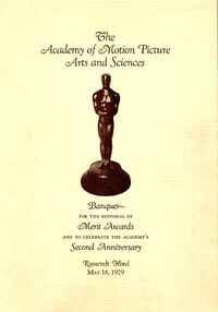 Acadmy Awards 1st