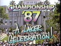 KHJ-TV's Channel 9 News Presents, Championship '87, A Laker Celebration! Video Open From June 1987
