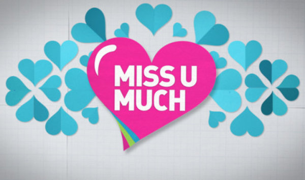Miss U Much Logopedia Fandom Powered By Wikia