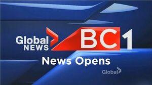 Global News BC 1 - News Opens