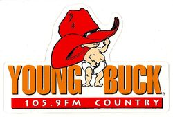 KBUQ Young Buck Country 105.9