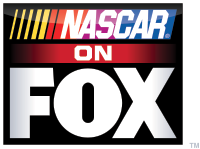 NASCAR On FOX Vertical Logo used from 2013-2014