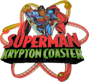 Superman Krpyton Coaster logo