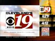 WOIO Cleveland's CBS 19 2002