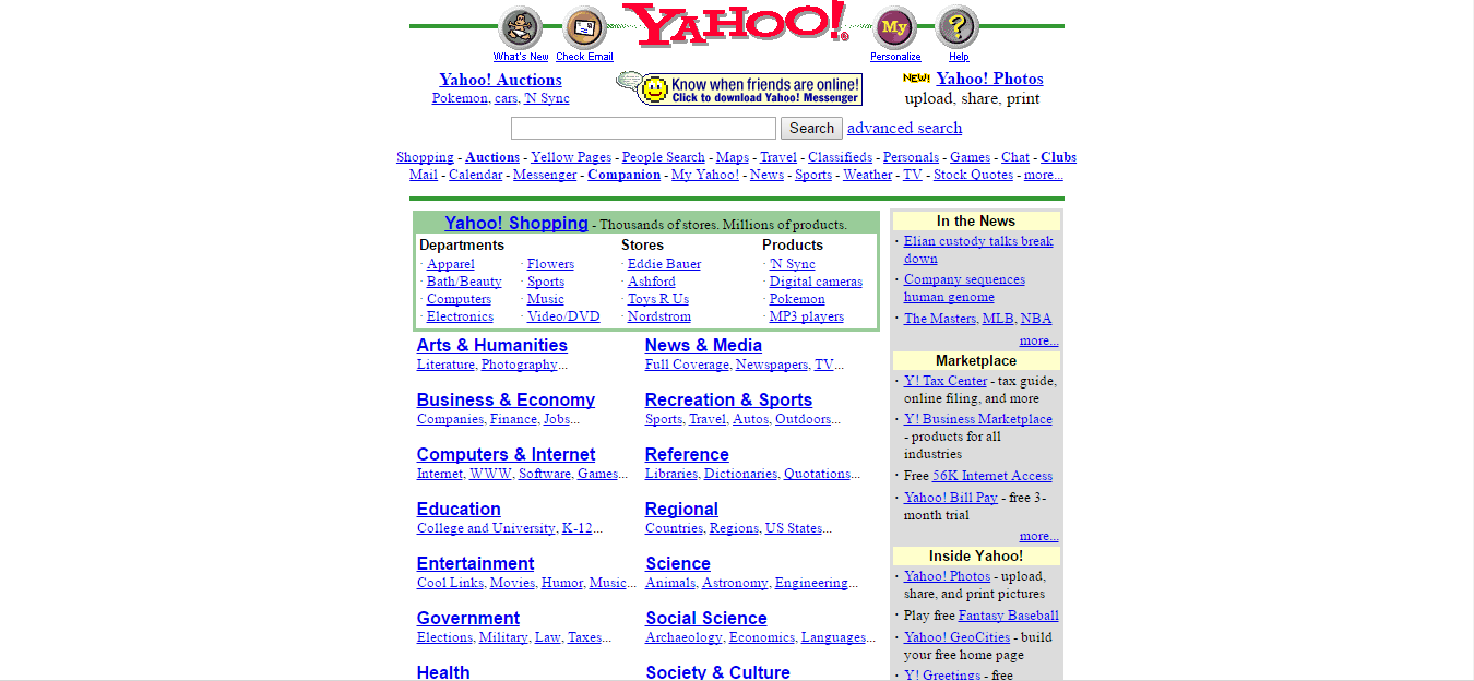 Image Yahoo Website 2000g Logopedia Fandom Powered By Wikia