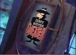 Dirty Rotten Cheater Logo