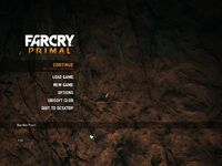 Far Cry Primal Menu 4x3