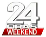 24 Oras Weekend Logo 2016 (displayed on Lower-third graphics)