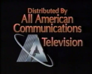 All American Communications Television (Bronze Text)
