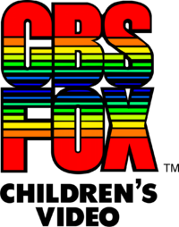 CBS Fox Children's Video 1984 print logo