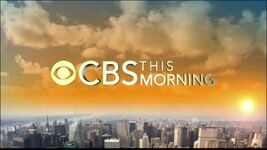 CBS This Morning 2014