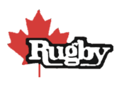 Canada Rugby logo 1980s-1994