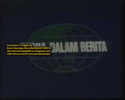 Dunia dalam berita tvri 1970s