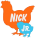 Nick Jr Chickens logo