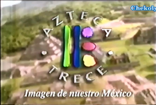XHDF-TV Azteca 13 (2000)