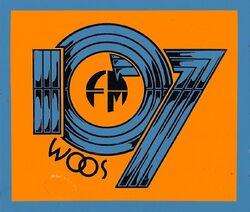106.9 WOOS-FM 107