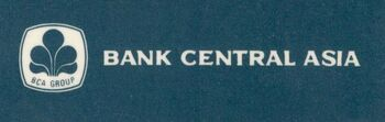 Bank Central Asia old