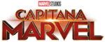 CaptainMarvel Spanish logo