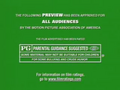 MPAA All Audiences Trailer ID (Max Keeble's Big Move, 2001, A)