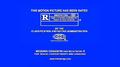 MPAA R Rating (Wedding Crashers variant)