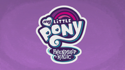 My Little Pony Friendship is Magic title card 2017