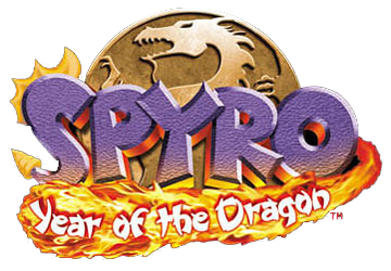 Spyro Year of the Dragon - Playstation-3-ps3-cover - Logo
