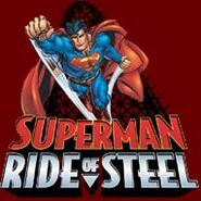 Superman Ride of Steel logo