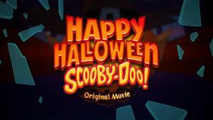 Happy Halloween Scooby-Doo logo