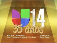 Kdtv univision 14 35 anos id 2010