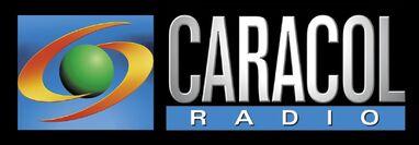 Logo Caracol Radio 1998 horizontal
