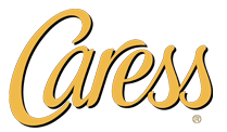 Logo caress gold