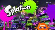 Splatoon Title Screen