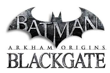 Batman arkham origins blackgate logo