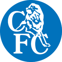 Chelsea FC logo (white lion, blue disc)