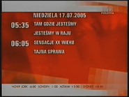 Program dnia TVP Polonia (17.07.2005)