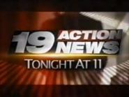 WOIO 19 Action News Tonight At 11 2008