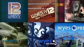 WYES-TV 12 Station Identifications Compilation 1977-present UPDATED