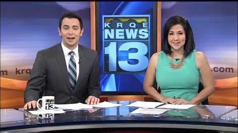 KRQE-TV news opens