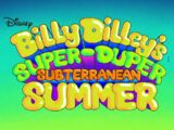 Billy Dilley's Super Duper Subterranean Summer