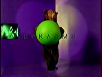 NTV 1997 Lavender Ident Bear