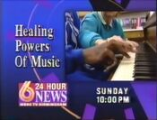 WBRC Channel 6 News Healing Powers of Music in 1993