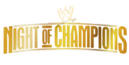 WWE Night of Champions Logo